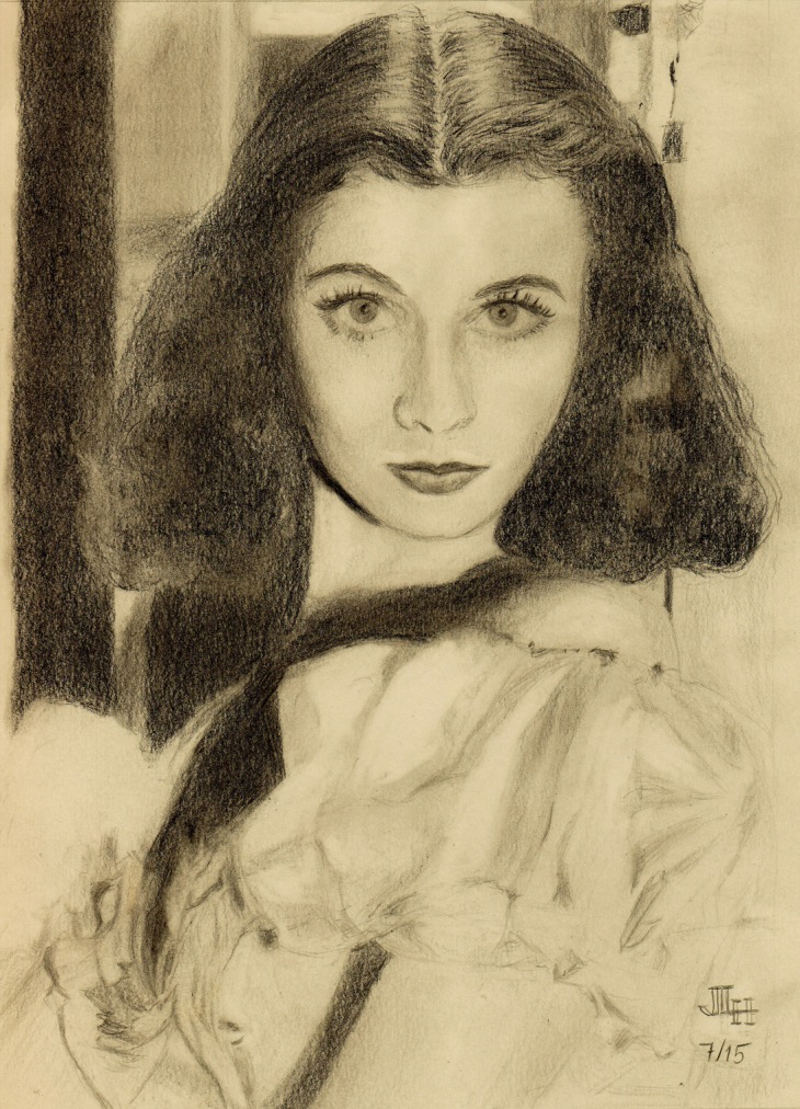 July 2015 - Vivien Leigh has always been another favorite of mine.